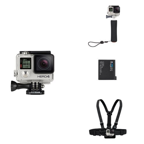 GoPro HERO4 pack silver